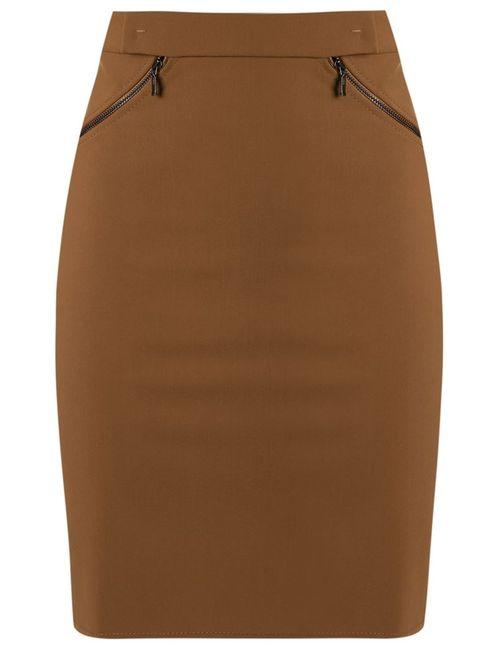 GLORIA COELHO | Женское Коричневый High-Waisted Skirt