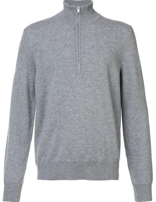Maison Margiela | Мужское Серый Elbow Patch Knit Sweater