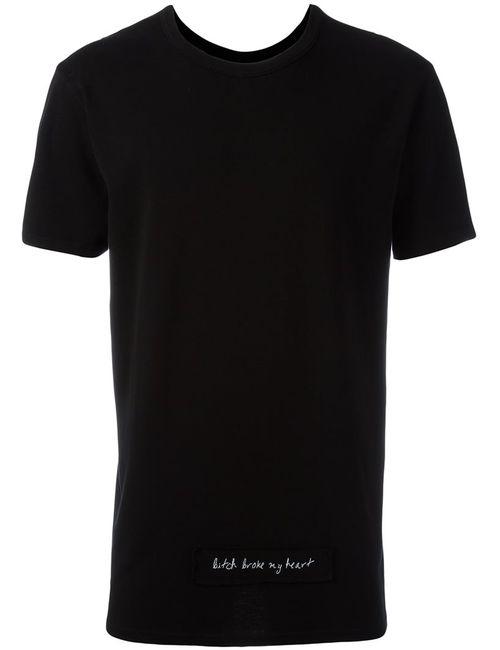ROAD TO AWE | Мужское Чёрный Skull Print T-Shirt