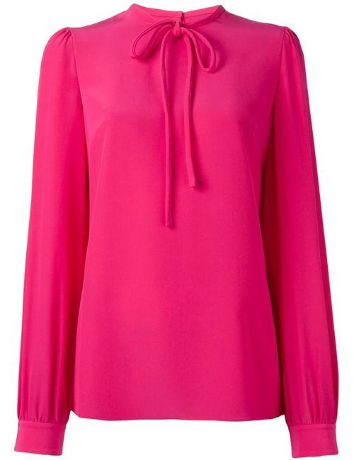 Dolce & Gabbana | Женское Розовый Tied Neckline Blouse