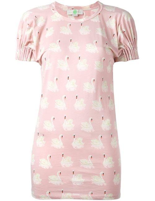 Stella Mccartney | Женское Розовый Swan Print T-Shirt