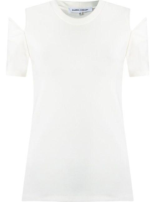 GLORIA COELHO | Женское Белый Panelled Blouse