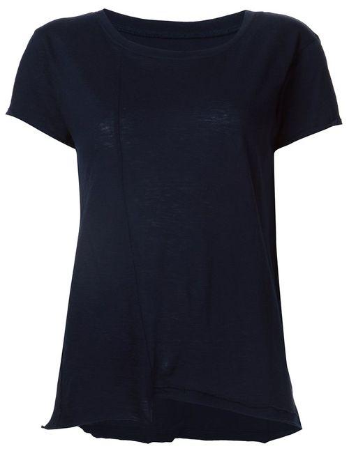 RTA | Женское Чёрный Johnny Raw Cut T-Shirt