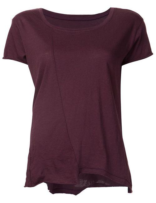 RTA | Женское Красный Johnny Raw Cut T-Shirt