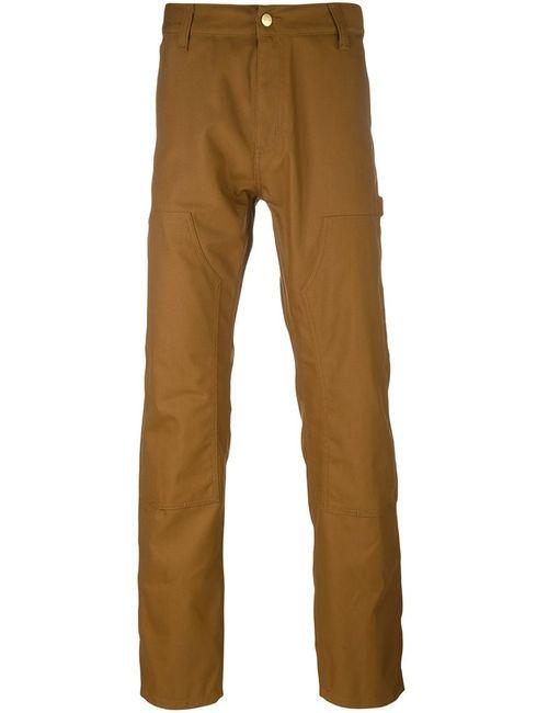 Carhartt | Коричневый Straight Trousers
