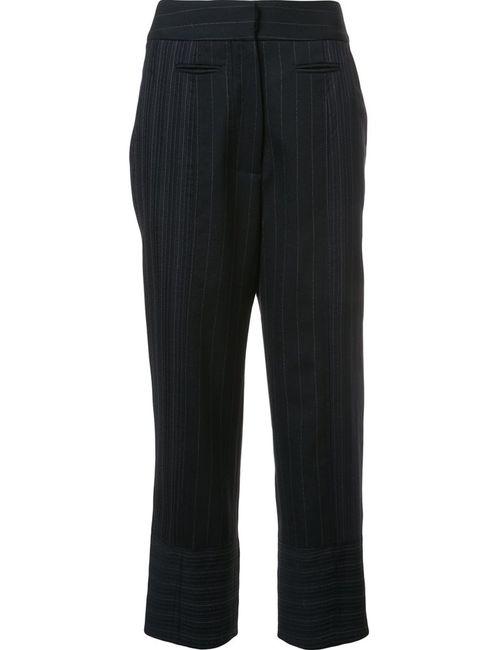 Victor Alfaro | Чёрный Cropped Trousers