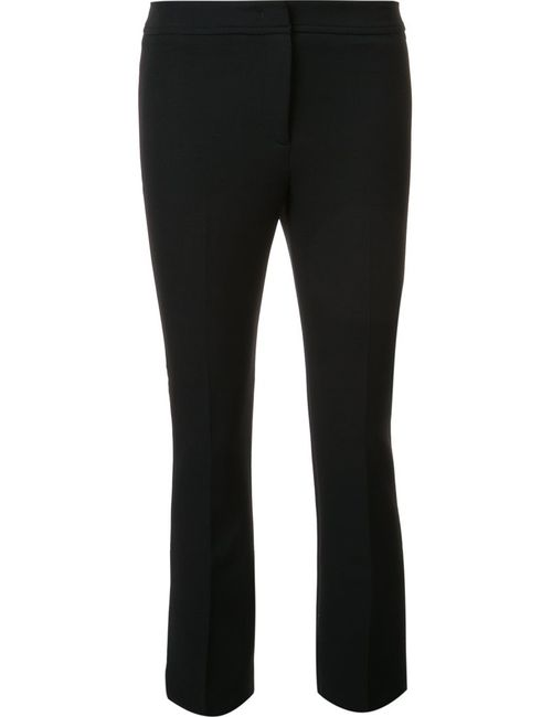 Ql2 | Чёрный Flared Cropped Trousers