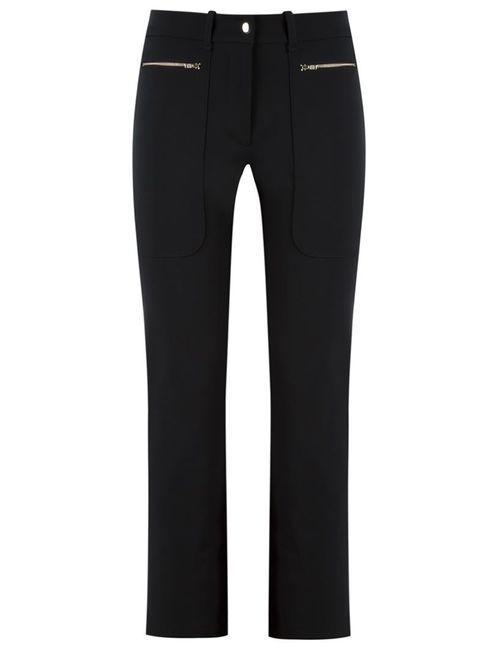 GLORIA COELHO | Чёрный Side Pockets Trousers