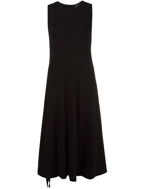 Proenza Schouler | Женское Чёрное Расклешенное Платье