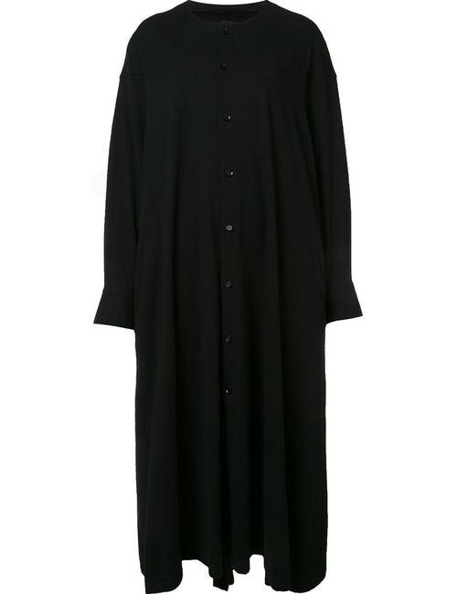 Yohji Yamamoto | Женское Чёрный Open Cuff Dress