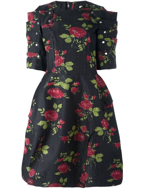Comme Des Garcons | Женское Чёрный Print Dress