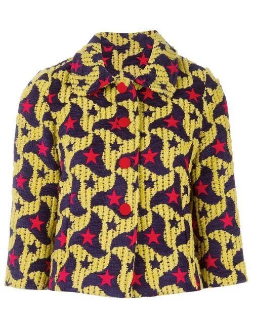 Ultràchic | Женское Желтый Star Jacquard Jacket