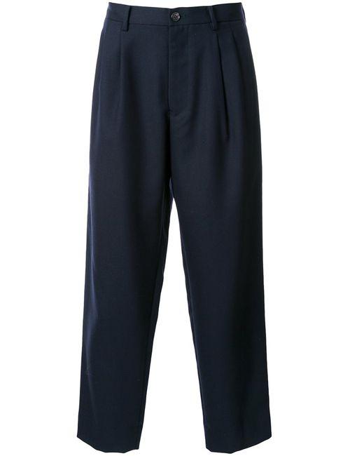 En Route | Синий Wide Leg Twill Trousers