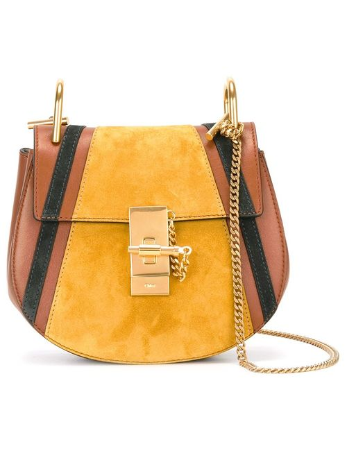 Chloe | Желтый Chloé Patchwork Drew Shoulder Bag