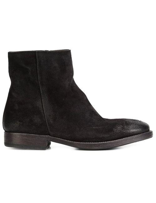 N.D.C. Made By Hand | Женские Чёрные Ботинки Intone