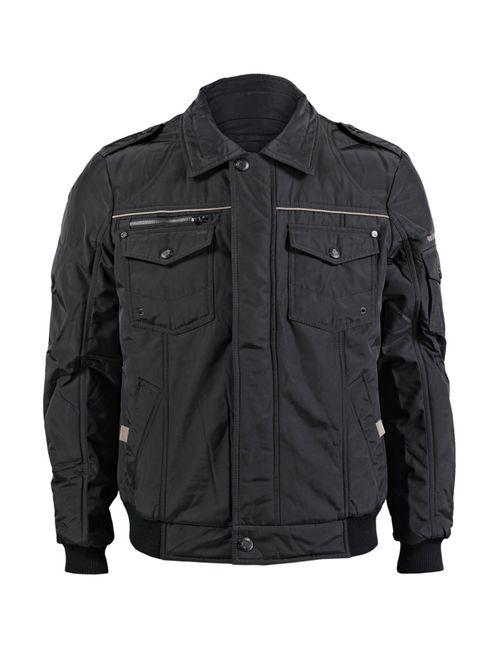 Finn Flare | Мужская Чёрная Куртка Мужская