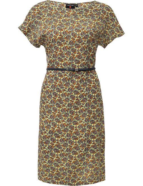 Finn Flare | Женское Солнечно-Лимонное Платье Женское Finn-Flare