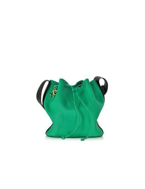 Corto Moltedo | Женская Зелёная Мятно-Зеленая Сумка Из Козловой Кожи