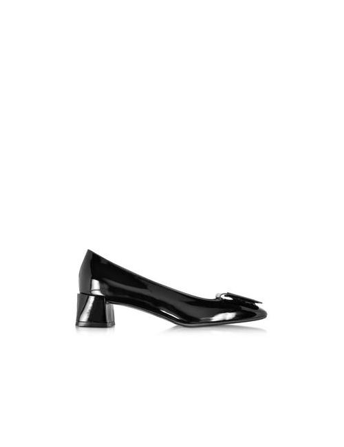 Fratelli Rossetti | Женское Чёрный Patent Leather Mid Heel Pump