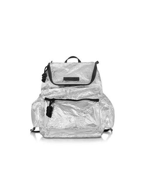 Dsquared2 | Мужской Серебристый Мужской Рюкзак Из Ламинированного Нейлона