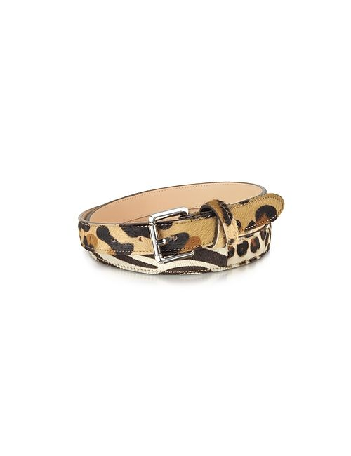 Forzieri | Коричневый Animal Print Haircalf Leather Belt