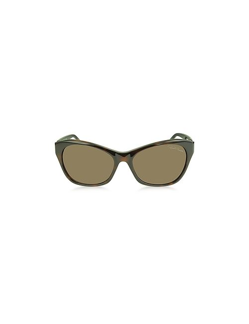 Roberto Cavalli | Asdu 730s 52f Havana Leopard Brown Sunglasses