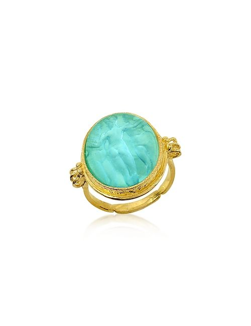 Tagliamonte | Золотой Three Graces 18k Turquoise Mother Of Pearl