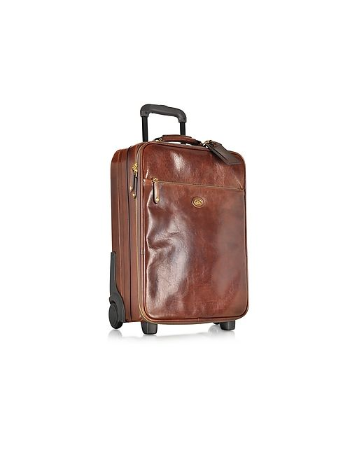 The Bridge | Коричневый Story Viaggio Marrone Leather Trolley