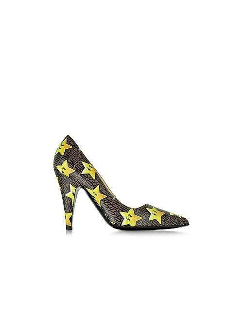 Moschino | Многоцветный Super Stars Leather Pump