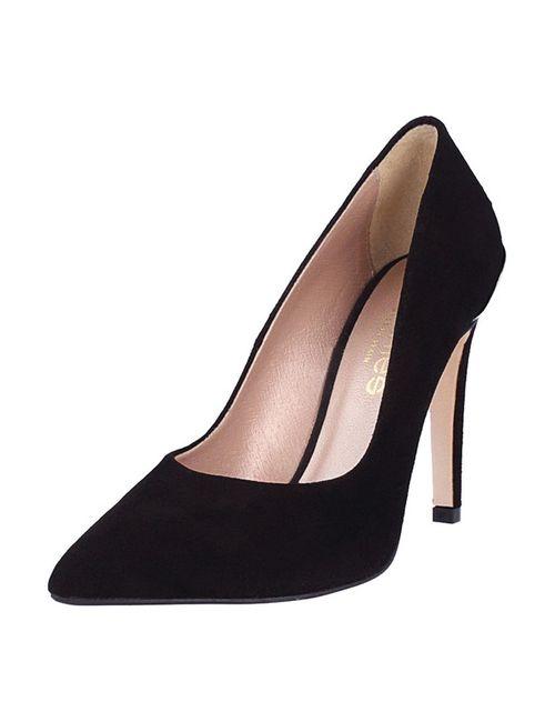 El Dantes | Женские Чёрные Туфли
