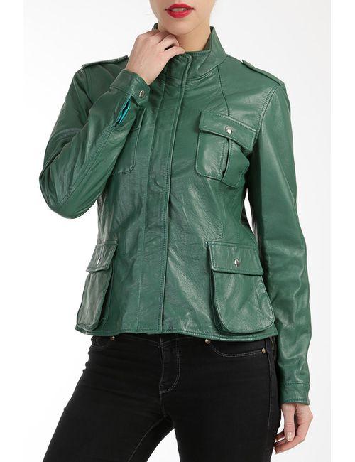 Mangotti   Женская Зелёная Куртка