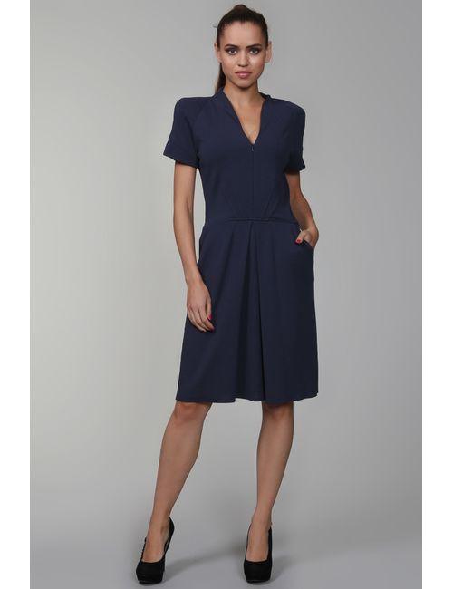 LIN POUR L'AUTRE | Женское Синее Платье