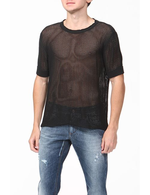 Dolce & Gabbana | Мужской Чёрный Пуловер Вязаный