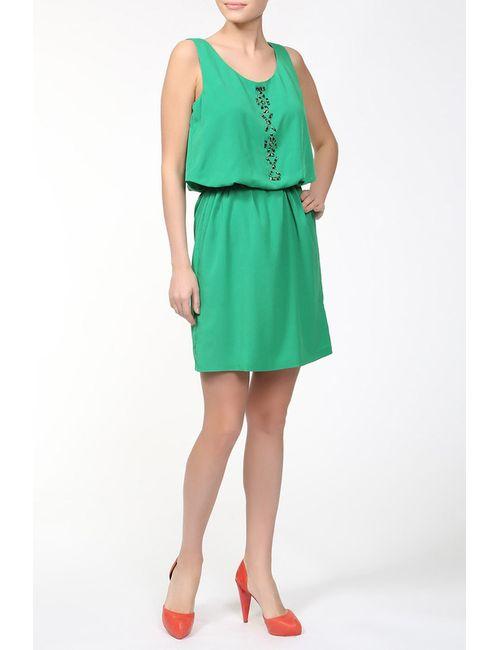 Alba Conde   Женское Зелёное Платье