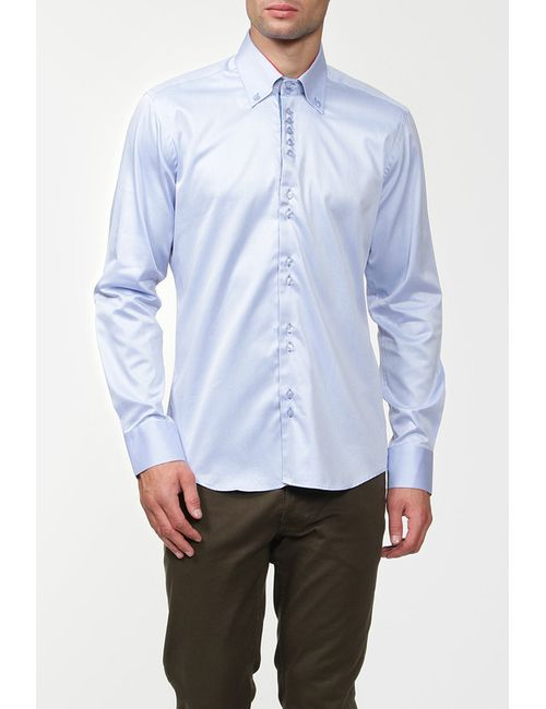Alex Dandy | Мужская Синяя Рубашка