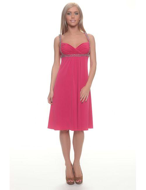 Groupe Js   Женское Розовое Платье