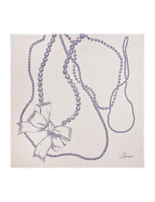 Eleganzza | Женский Фиолетовый Платок