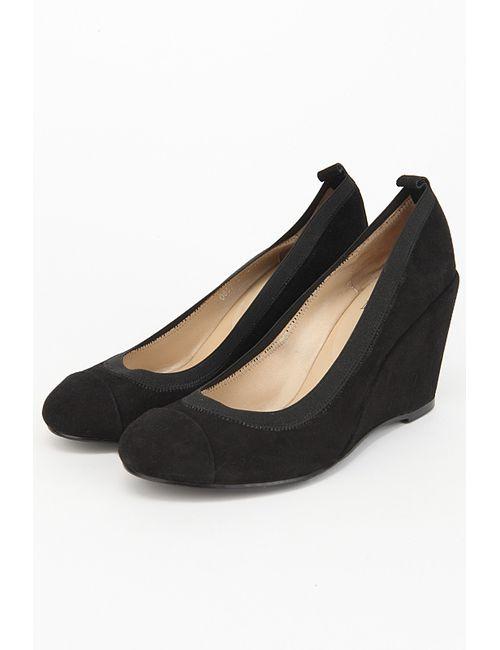 Gode | Женские Чёрные Туфли