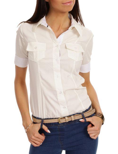 Moe | Женская Бежевая Рубашка