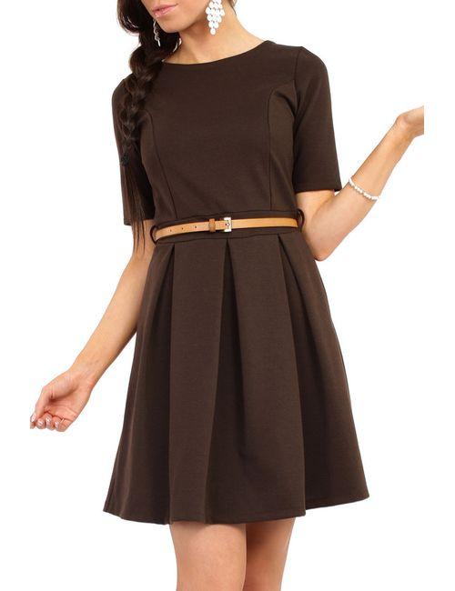 Moe | Женское Коричневое Платье