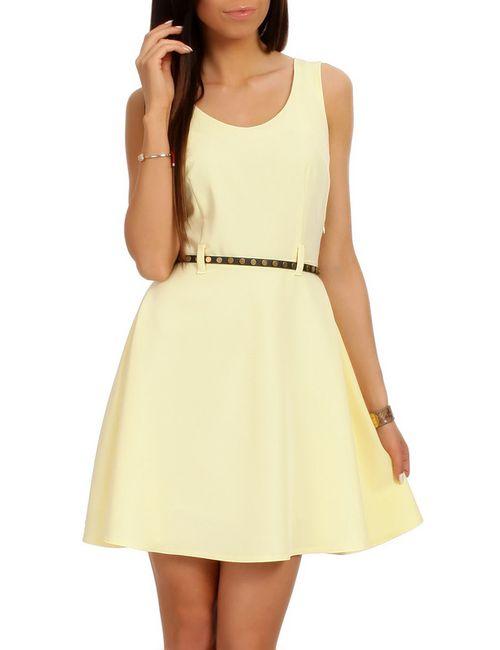 Moe | Женское Жёлтое Платье