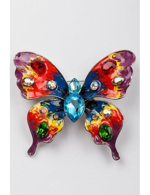 FRANSUA ARDY | Женская Многоцветная Брошь