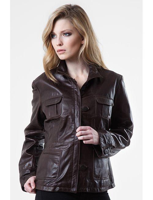 Helium | Женская Коричневая Куртка