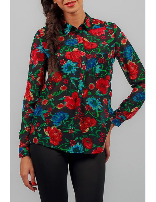 Carla Giannini   Женская Многоцветная Рубашка