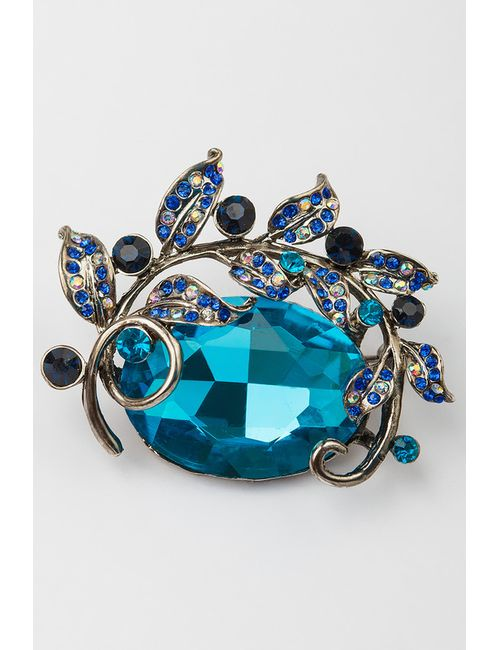 CHANTAL | Женская Синяя Брошь