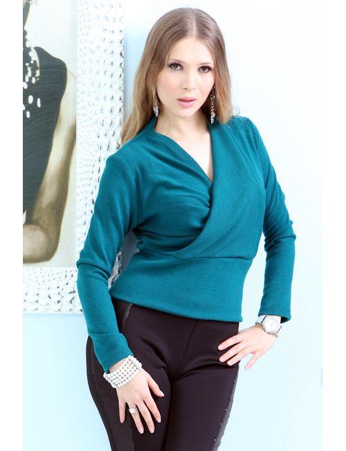 Lussotico | Женская Голуба Блуза