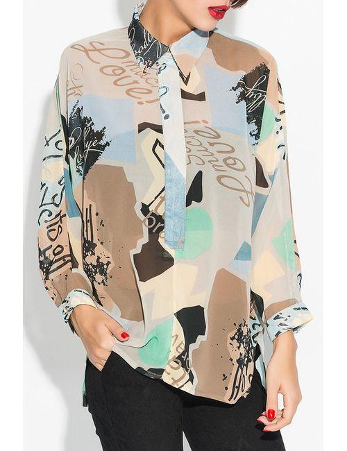 Ironi | Женская Многоцветная Рубашка
