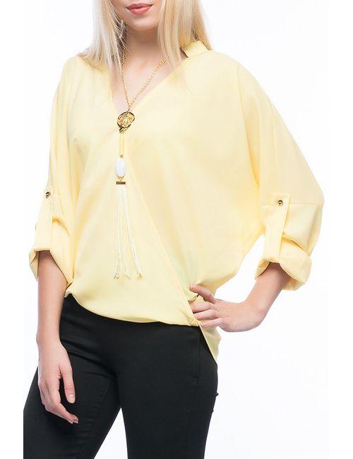 Ironi | Женская Жёлтая Блуза