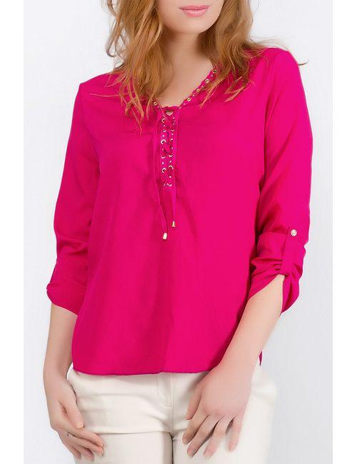 Ironi | Женская Розовая Блуза