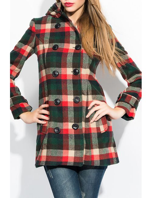 Ironi   Женское Многоцветное Пальто